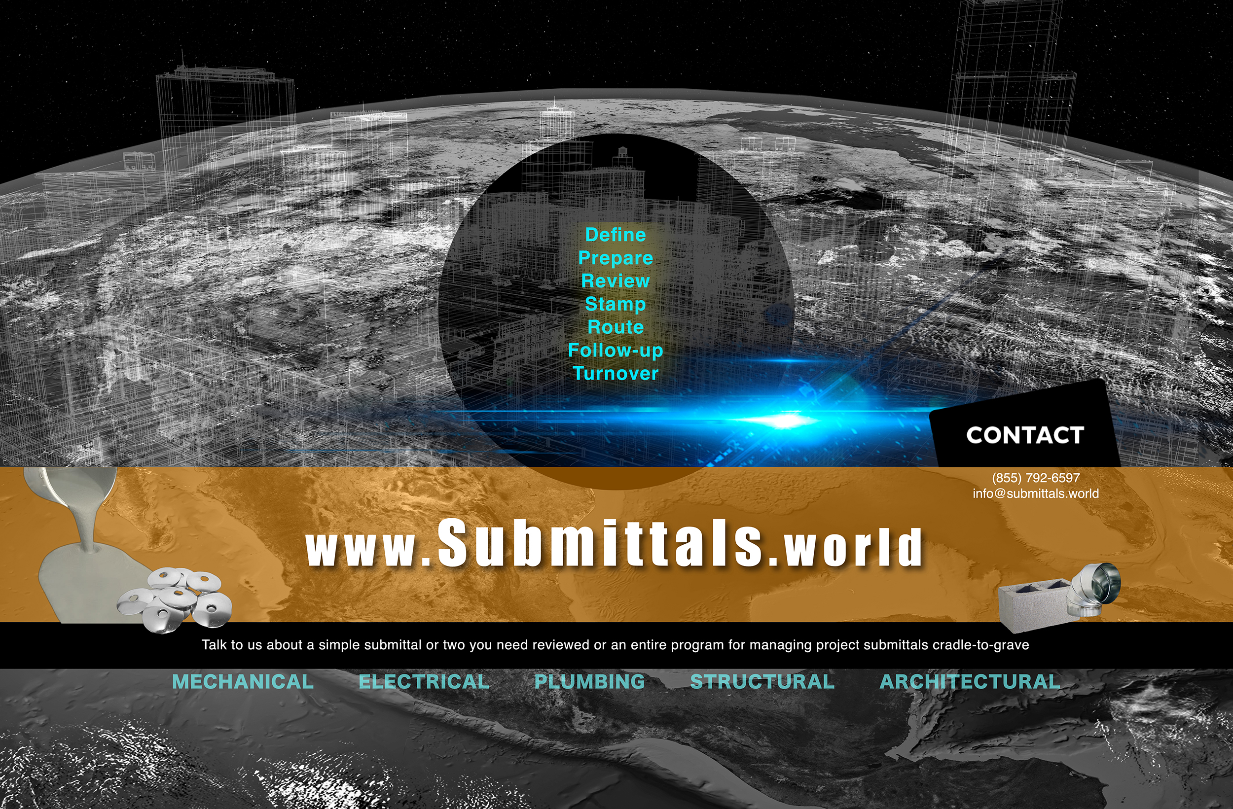 Construction Submittal reviews by professional engineers and designer's